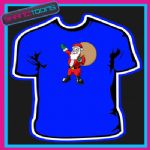 SANTA CLAUS FATHER CHRISTMAS TSHIRT CHILDRENS MENS & LADIES SIZES - 160883622380
